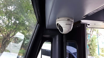 Frontal Security Camera